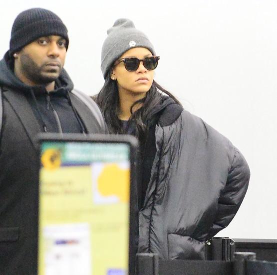 Rihanna à New-York le 18 février 2015