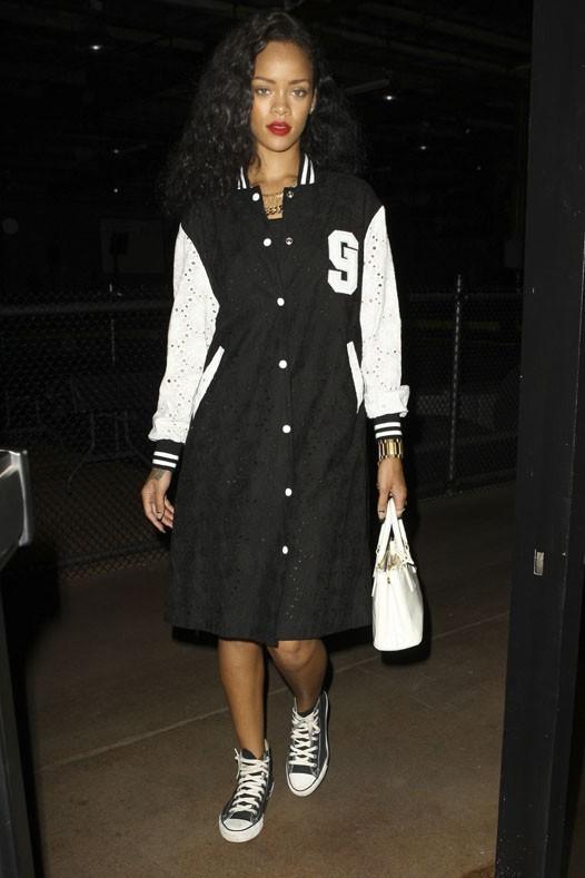 Rihanna à Burbank le 25 août 2012