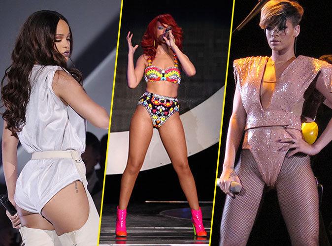 Photos: Rihanna: Les meilleurs looks de ses tournées mondiales !