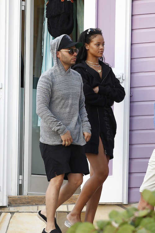 Photos : Rihanna : les vacances continuent à Saint-Barth !