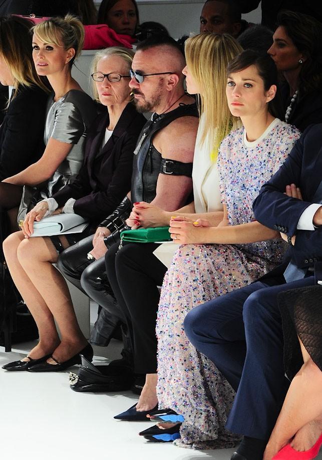 Marion Cotillard au défilé Dior organisé à New-York le 7 mai 2014