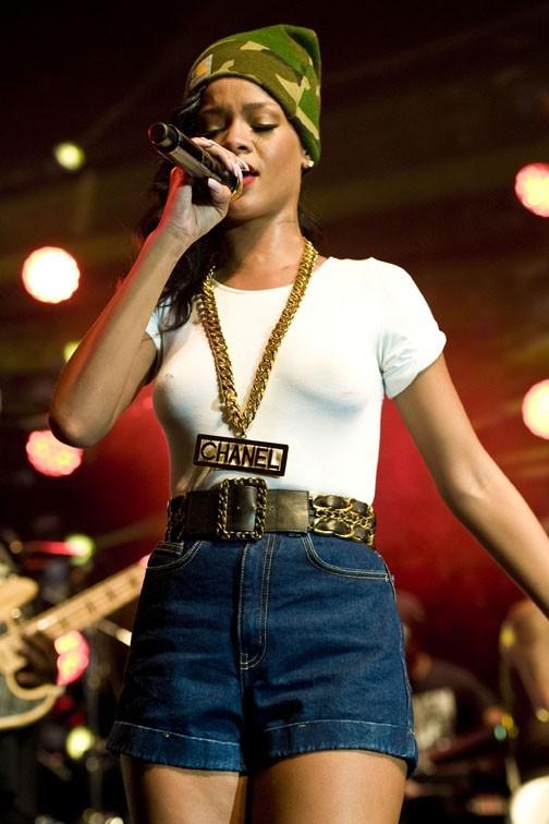 Rihanna à Stockholm pour la troisième date de son 777 Tour le 16 novmbre 2012