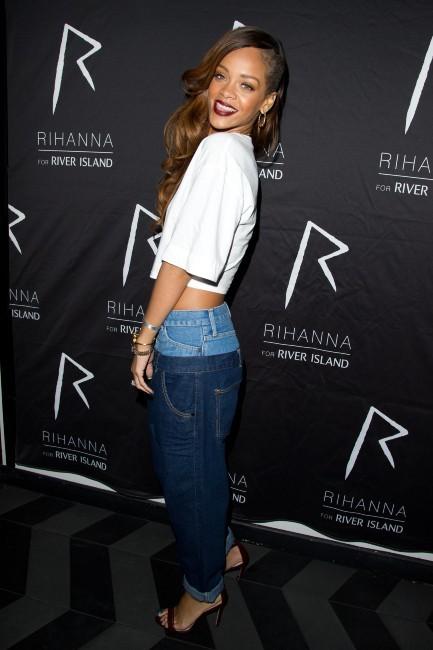 Rihanna le 4 mars 2013 à Londres