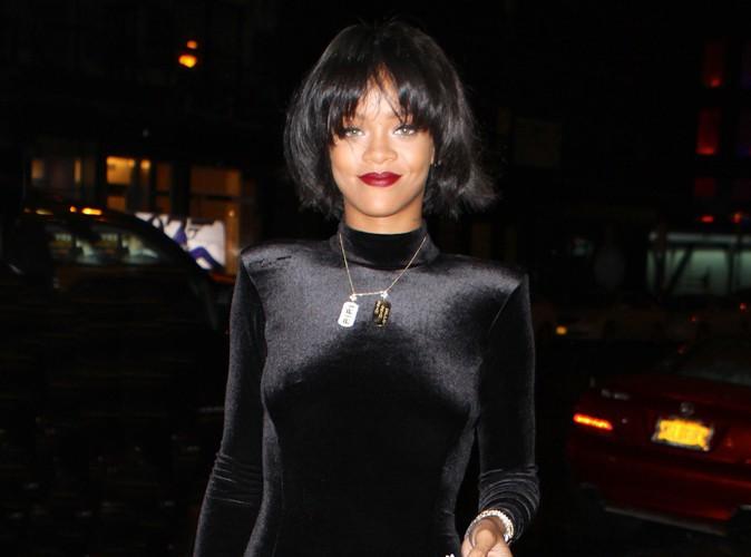 Rihanna à New-York le 17 novembre 2013