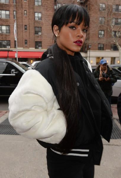 Rihanna à New York, le 17 mars 2014.