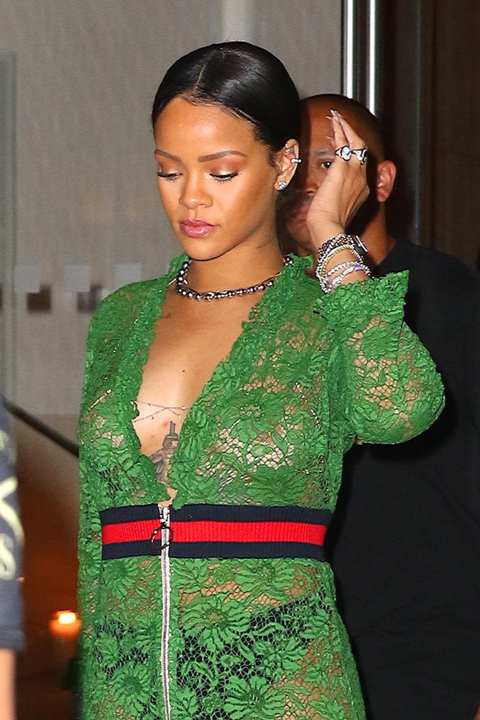 Rihanna à New York le 25 mai