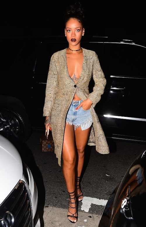 Rihanna à Santa Monica le 21 mars 2015