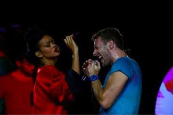Chris et Rihanna par David Hallyday !