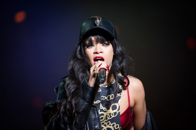 Rihanna le 29 juin 2012 à Oslo
