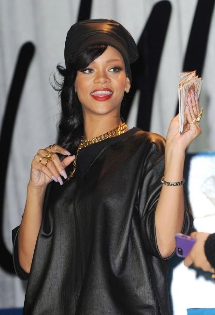 Rihanna le 20 novembre 2012 à New York