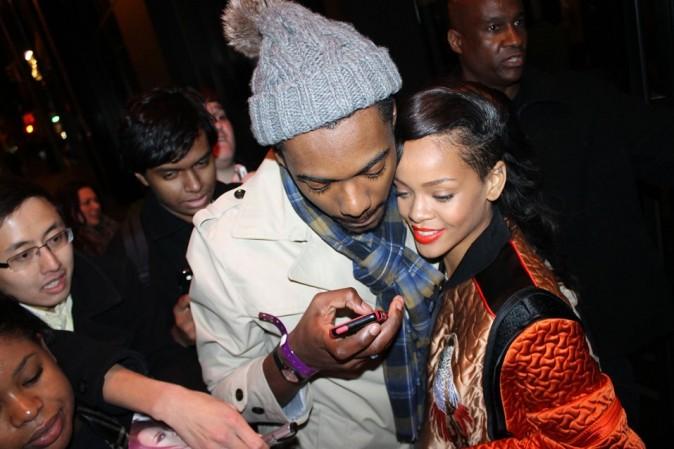 Rihanna à Stockholm le 9 novembre 2012