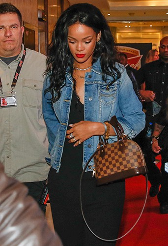 Rihanna à Rio de Janeiro le 11 juillet 2014
