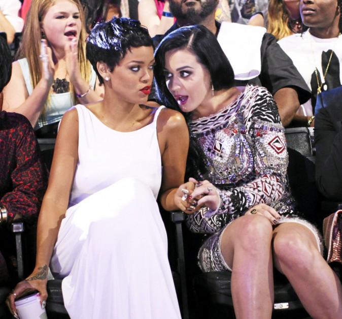 Brouillées un temps à cause de Chris Brown, Riri et Katy Perry se sont réconciliées.
