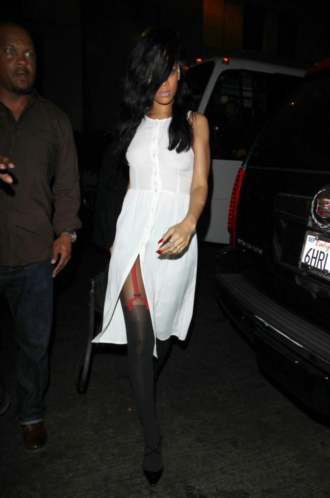 Quand Rihanna débarque, ça se voit !