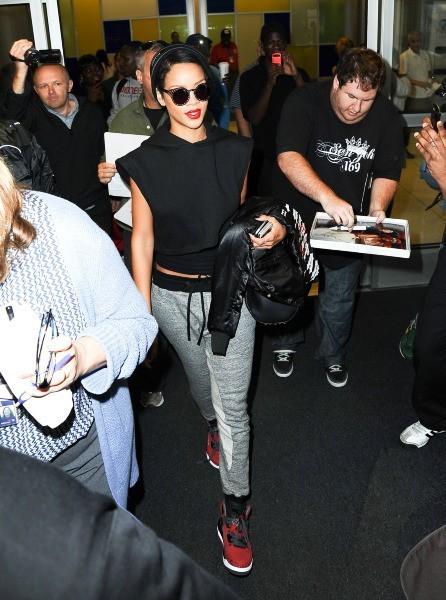 Rihanna à New York, le 27 septembre 2012.