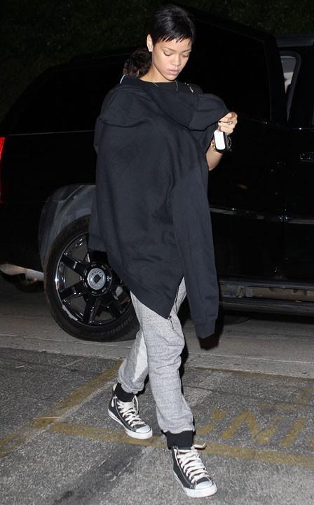 Rihanna à Los Angeles le 13 octobre 2012