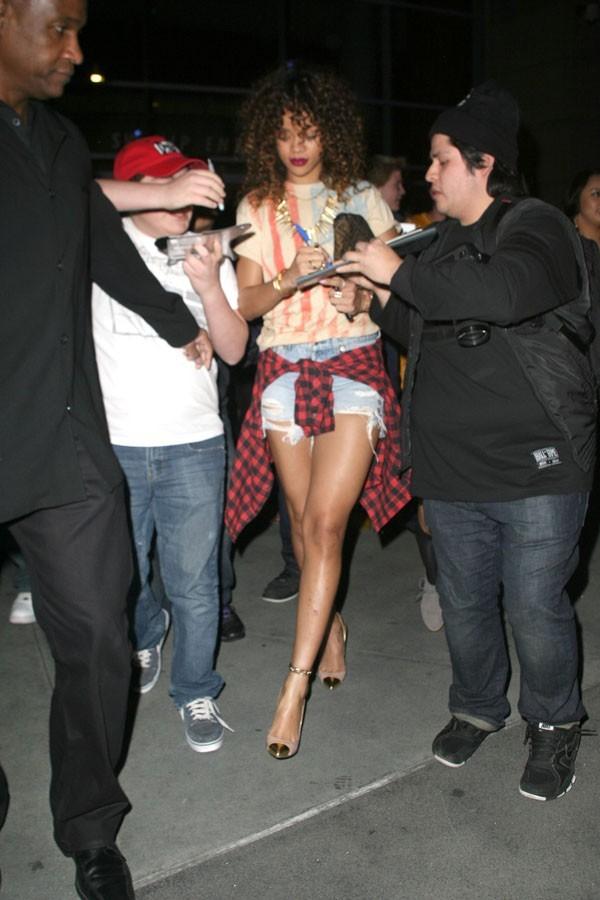 Oui, oui , c'est Rihanna !
