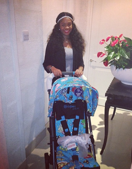 La cousine enceinte de Rihanna !