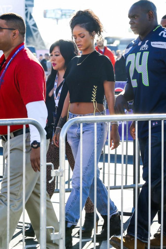 Rihanna le 1er février 2015