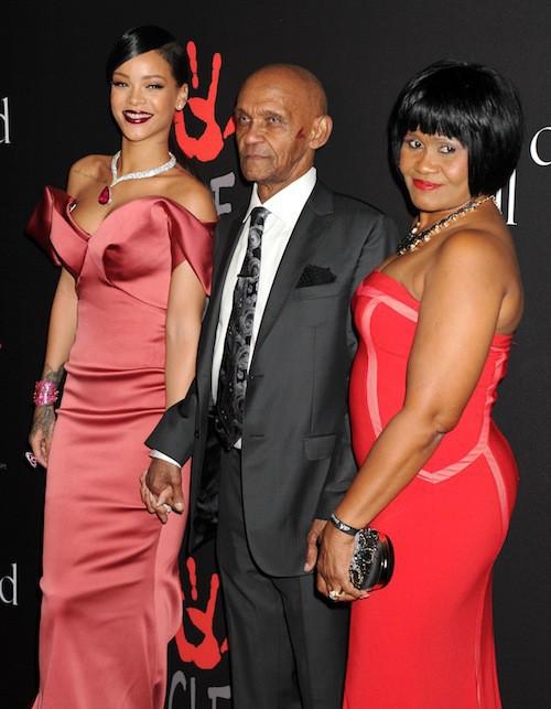Photos : Rihanna : sublime et en famille pour son premier Diamond Ball !