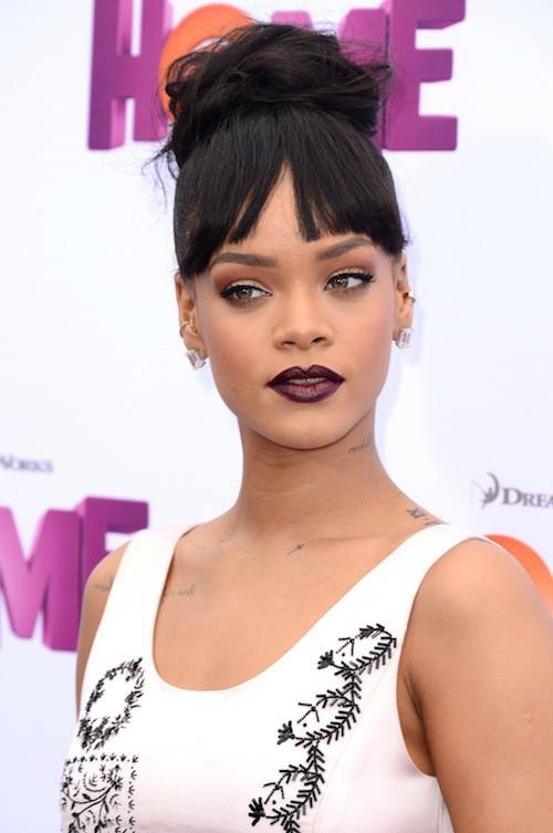 Photos : Rihanna : tata gaga et distinguée pour la première de Home !
