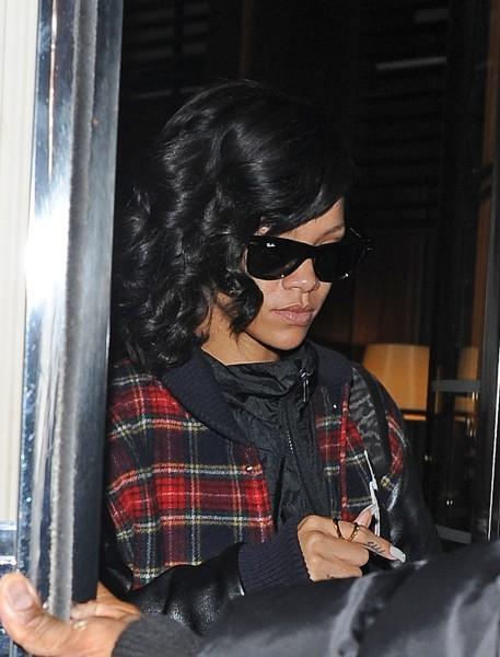Rihanna le 27 novembre 2012 à Londres
