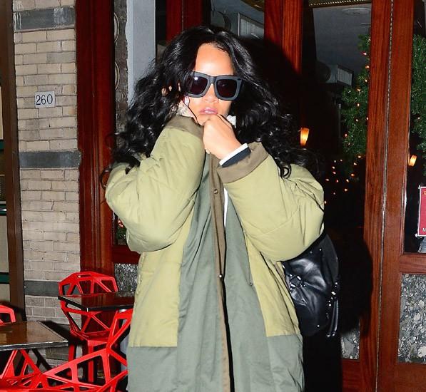 Rihanna à New-York le 6 janvier 2015