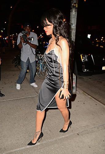 Rihanna à New York le 14 août 2014