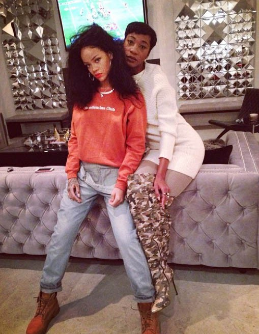 Le Thanksgiving 2014 de Rihanna...