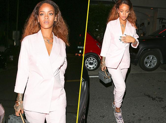 Rihanna de nouveau chic et 100% tendance !