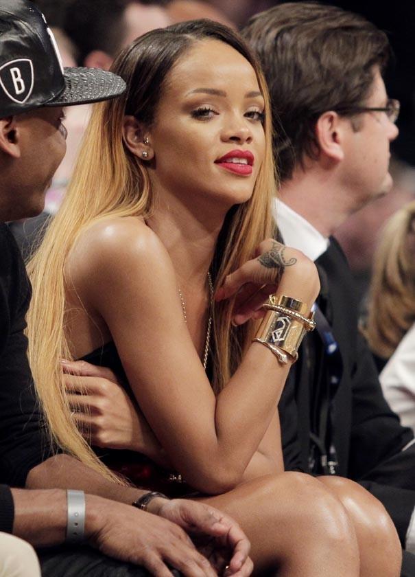Rihanna au Barclays Center de New-York le 4 mai 2013