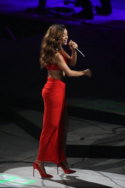 Rihanna en concert le 29 avril 2013 à Washington D.C