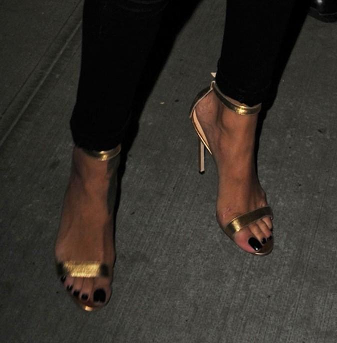 Rihanna à New York, le 1er octobre 2012.