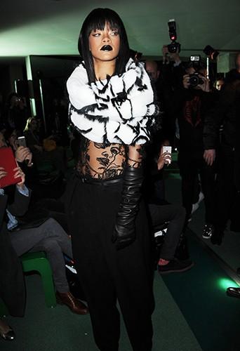 Rihanna à Paris le 1er mars 2014