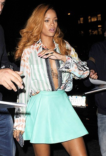 Rihanna à New-York le 8 mai 2013