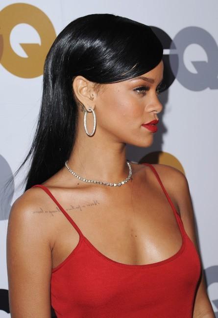 """Rihanna lors de la soirée """"GQ Men of the Year Party 2012"""" à Los Angeles, le 13 novembre 2012."""