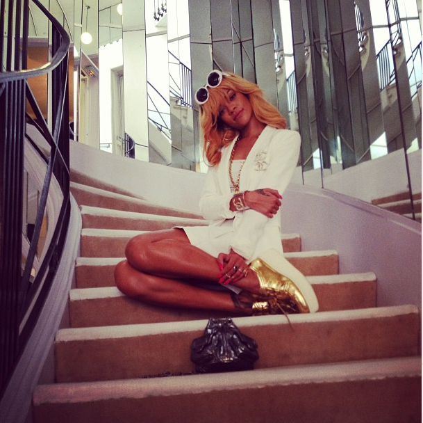 Rihanna chez Coco Chanel