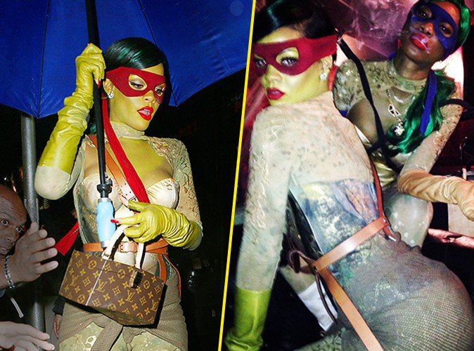Rihanna : une Tortue Ninja so sexy !