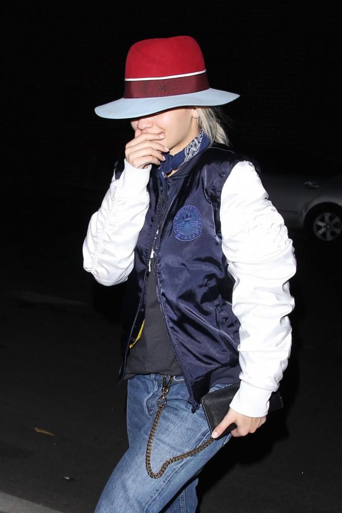 Rita Ora à Los Angeles le 13 janvier 2015
