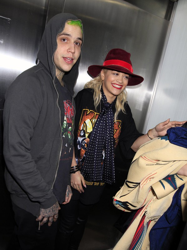Rita Ora et Ricky Hil à Los Angeles