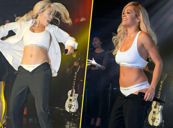 Rita Ora : après le pénis géant de Miley Cyrus, le striptease survolté de la chanteuse anglaise au G-A-Y Club de Londres !