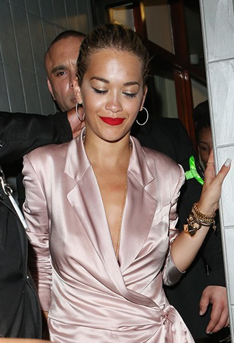 Rita Ora à Londres le 24 juillet 2013