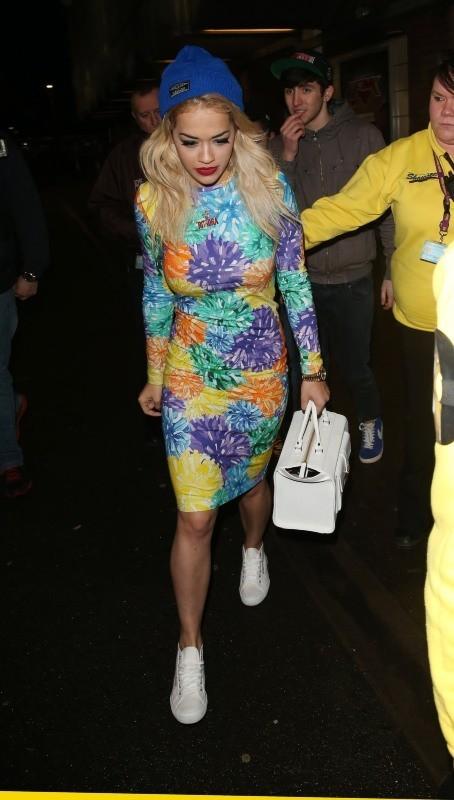Rita Ora le 5 février 2013 à Londres