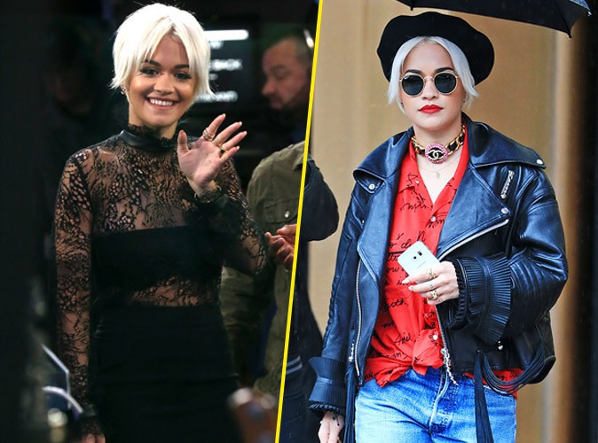 Photos : Rita Ora : double dose de looks rock et sexy !