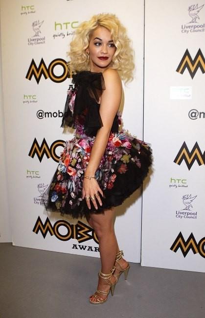 Rita Ora le 3 novembre 2012 à Liverpool