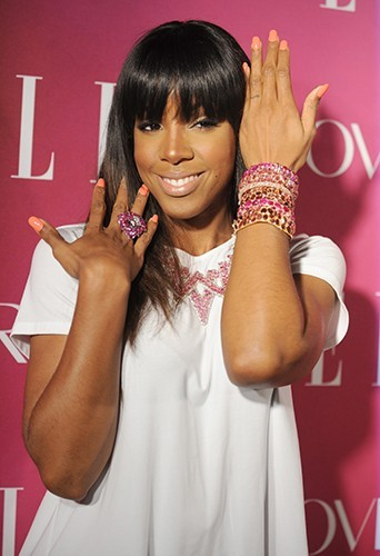 Kelly Rowland à New-York le 10 avril 2013