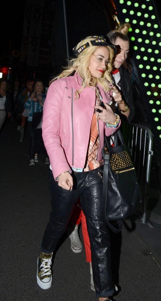 Rita Ora à Londres le 24 juin 2012