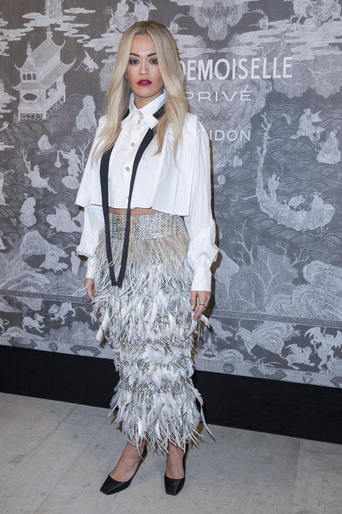 Rita Ora le 12 octobre 2015