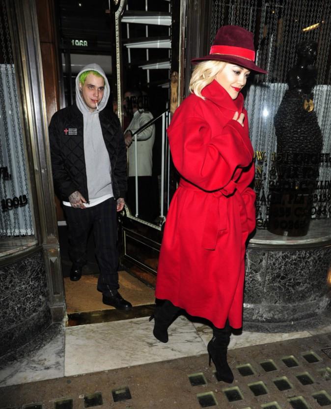 Rita Ora et Ricky Hilfiger le 11 novembre 2014