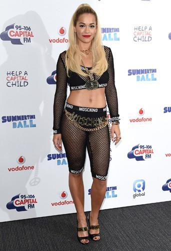 Rita Ora à Londres le 21 juin 2014